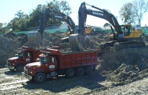 Commercial Construction Site Work